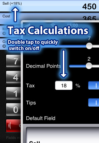 iMargin - Margin Calculator screenshot 2